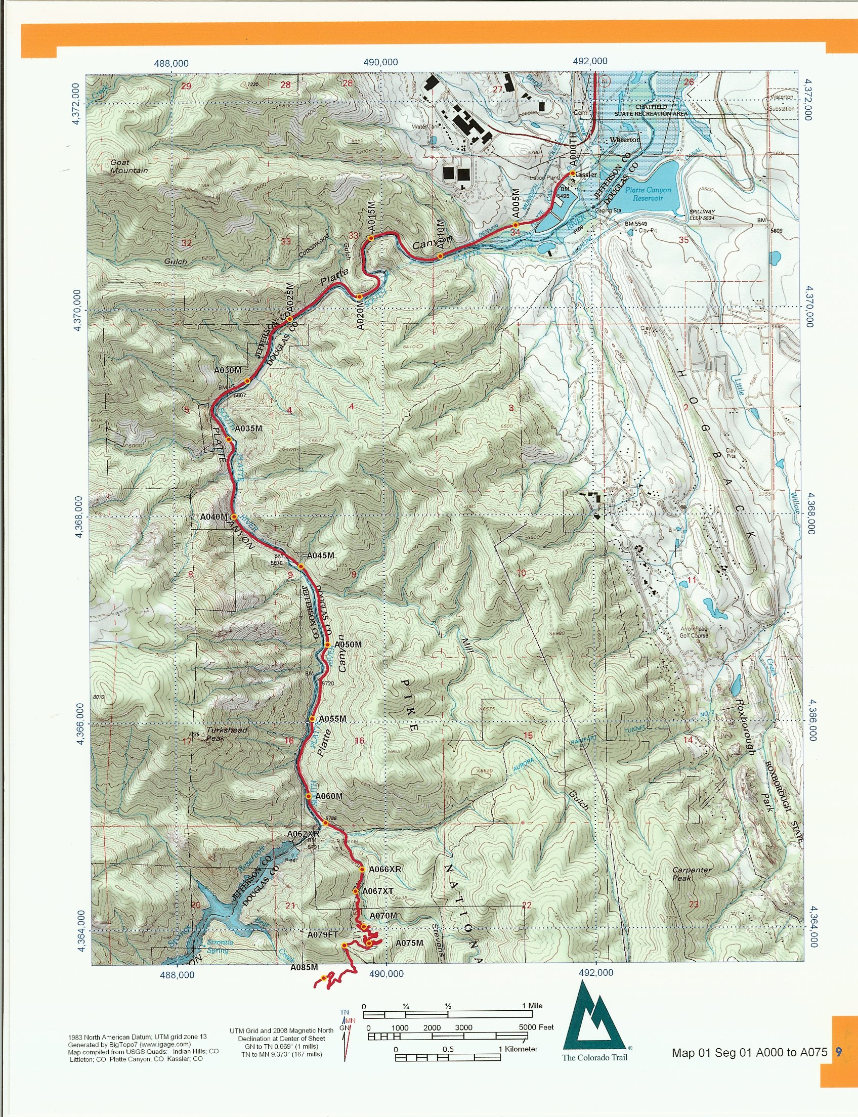 Colorado Trail Mapbook